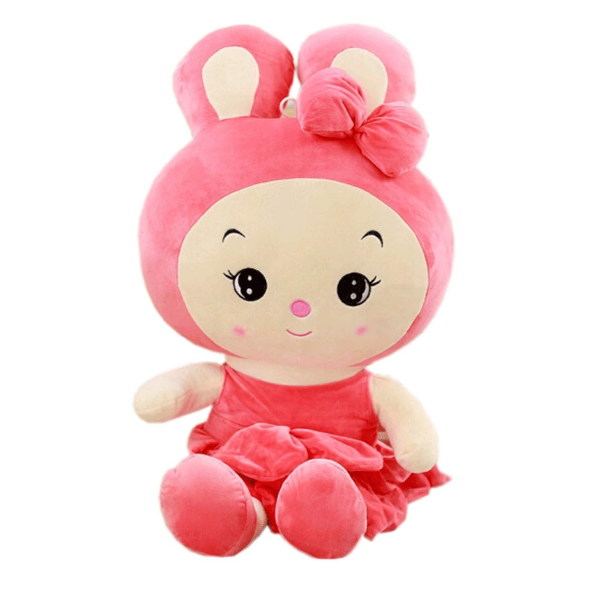 Pale pink 60cm Pale pink 60cm Plush Toy Rabbit, Doll Doll, Birthday Gift, Three colors, Multi-Size, Best Gift (color   Pale Pink, Size   60cm)