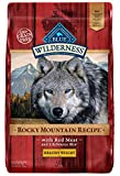 Cheap Blue Buffalo Wilderness Rocky Mountain Recipe High Protein Grain Free, Natural Adult Healthy Weight Dry Dog Food, Red Meat 22-lb