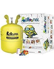 Balloonee Jumbo Disposable Helium Party Kit - 50 Balloons