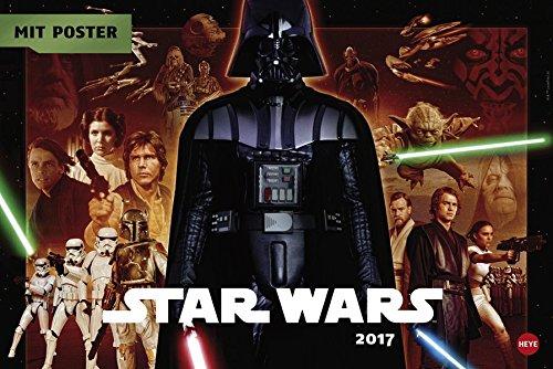 Star Wars Broschur XL - Kalender 2017
