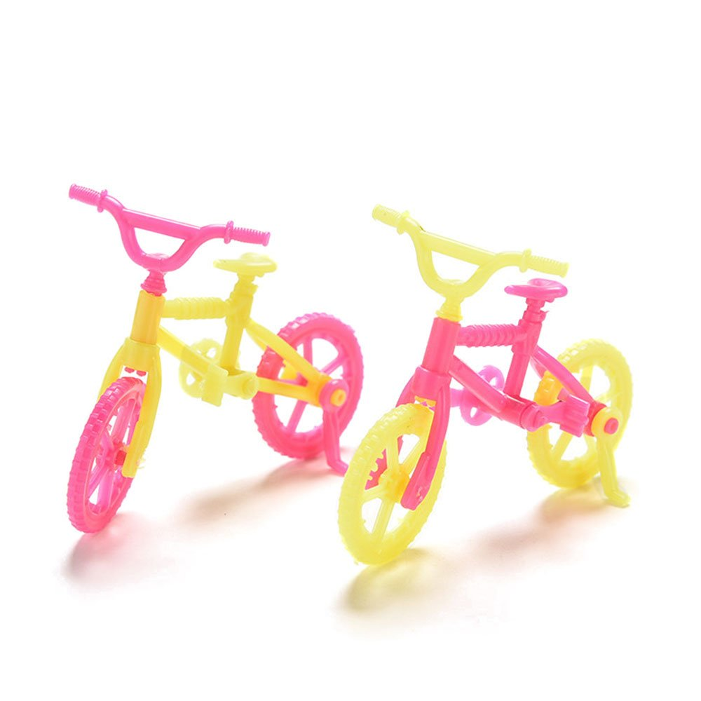 Hanbaili Mini Bike Table Dismantle Home Display Decoration Accessory Kids Developmental