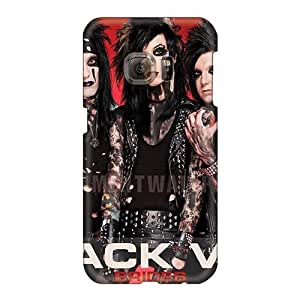 Samsung Galaxy S6 Are19587PqZi Provide Private Custom Colorful Black Veil Brides Band BVB Image Excellent Hard Phone Case -NataliaKrause