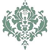 Patrón De Flores Clásico De La Pintura De Pared De La Plantilla Del Modelo Del Arte Decoración Del Hogar # 1