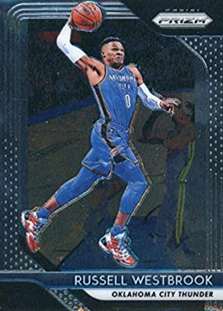 4f244a8122f 2018-19 Panini Prizm Basketball  39 Russell Westbrook Oklahoma City Thunder  Official NBA Trading