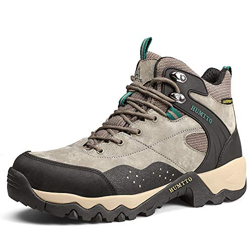 HUMTTO Outdoor Hiking Trekking Boots Mens Work Lightweight Shoes Backpacking Wear-Resistant