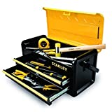 Stanley Tools and Consumer Storage STST19502 Metal Box with 2 Drawers, 19'', New .#GH45843 3468-T34562FD819681