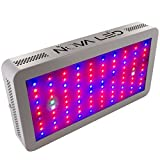 NOVALED N300 Grow Light Panel for Indoor Plants by Nova - 12 Bands Full Spectrum Lamp for Hydroponic Greenhouse - UV & IR LEDs - Energy Saving - Extra Ventilation