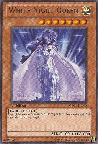 Yu-Gi-Oh! - White Night Queen (ORCS-EN090) - Order of Chaos - 1st Edition - ()