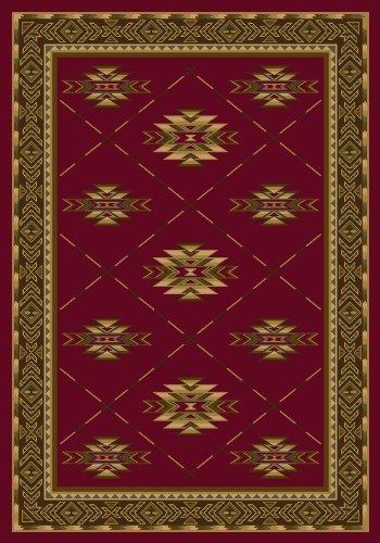 Signature Shiba Brick Southwestern Rug Size: 2'8