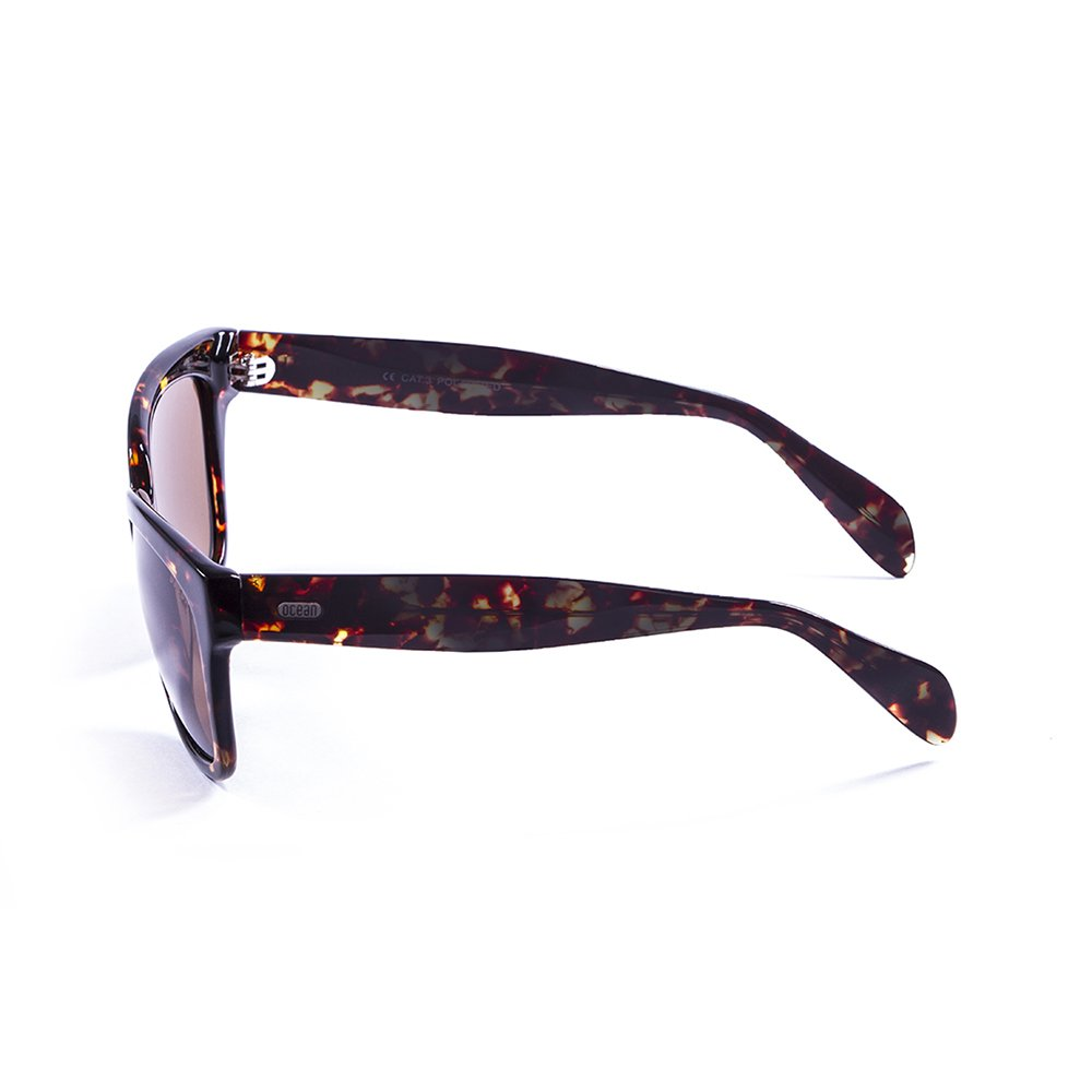 OCEAN SUNGLASSES Santa Monica Lunettes de soleil Demy Brown Dark/Brown Lens VCjLxeHhk