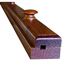Wooden Quilt Hanger 56' Hickory Wood, Clamp Amish Solid Wood Wall Mounted Rack - One Time Listing M.Allen