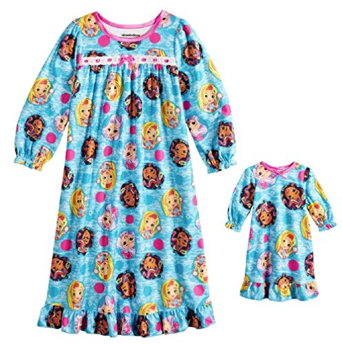 - Sunny Day Doll Girls Nightgown and Doll Gown Long Sleeve Night Shirt Pjs Toddler (3T)