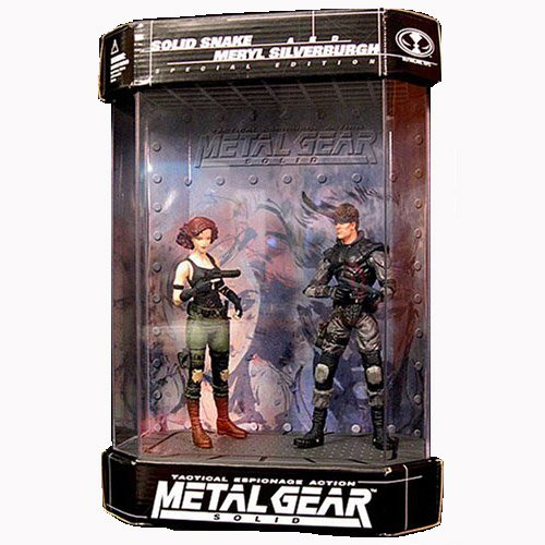 Price comparison product image Metal Gear Solid Special Edition Solid Snake & Meryl Action Figure 2-pack