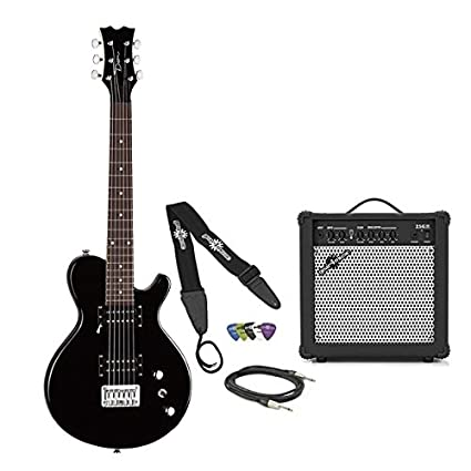 Dean EVO Mini Guitar Pack Classic Black