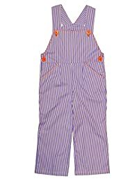Wonder Clothing Kids Striped Overalls Size Small