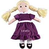 Personalized Birthstone Little Sister Doll - February