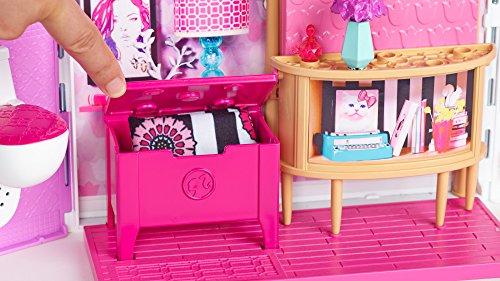 Casa Ufficio Barbie : Mattel 25cld97 casa di barbie con suoni e luci: amazon.it: giochi
