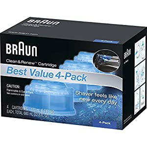 Ratings and reviews for Braun Clean & Renew Refill Cartridges CCR - 4 Count