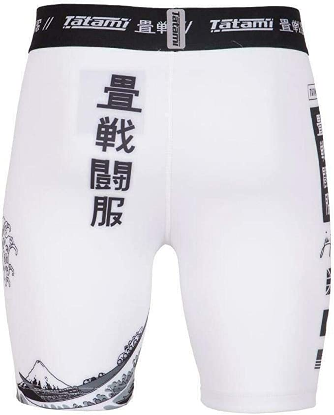 Tatami Fightwear VT Shorts Kanagawa Mens Compression Shorts Shorts a Compressione Uomo