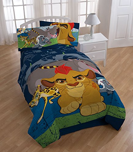 Lion Guard All For One Twin Comforter and Sheet Set