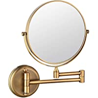 fcya Espelho de penteadeira, espelho de banheiro com ampliação 3X/5X/10X, espelho de aumento de dois lados de 20 cm…