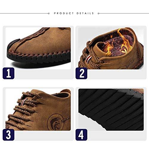 Chaussures Black Automne Pour Chaudes Hommes Hautes Bottes En Et Hiver Miss Coton Li Moelleuses SgC5qq
