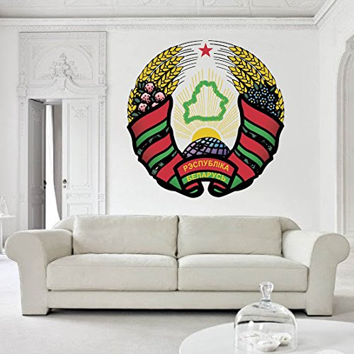 - Belarus's coat of arms Vinyl decal Wall Car Laptop, 72 inch
