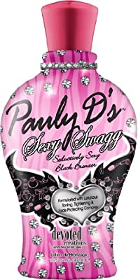 Devoted Creations Pauly D's Sexy Swagg Seductively Sexy Black Bronzer Tanning Lotion 12.25 oz