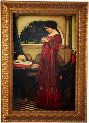 Design Toscano The Crystal Ball, 1902, Canvas Replica Painting: Large by Design Toscano