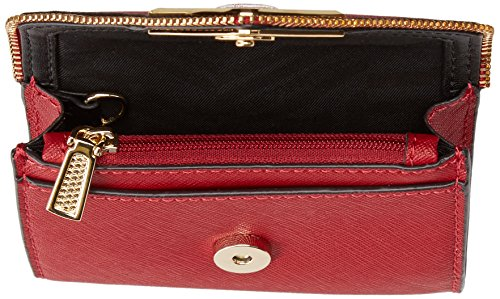 Molly Metro Wallet, Deep Red, One Size