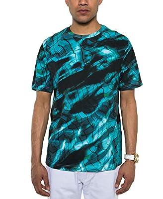 Sean John Men's Pool Print T-Shirt, Tropical