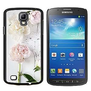 LECELL--Funda protectora / Cubierta / Piel For Samsung Galaxy S4 Active i9295 -- Composición del arte del dibujo en blanco --