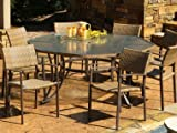 Tortuga Maracay 9-Piece Outdoor Dining Set For Sale