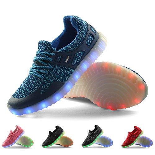 Fckee Nueva Se Categoría Superior De Led Se Nueva Encienden Los Zapatos 19b5f0