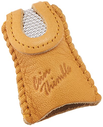 Clover Leather Double Sided Thimble-
