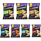 PopCorners Natural Popped Corn Chips 7 Flavor Variety Pack 1.1 Oz Bags (35 Pack)