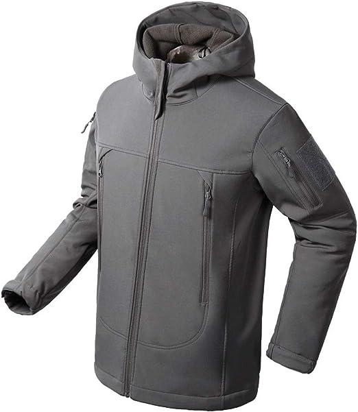 FLYGAGA Hombre Cortavientos Softshell Forro Polar pantal/ón Impermeable Outdoor Deporte Camping Senderismo Trekking/ /Pantalones