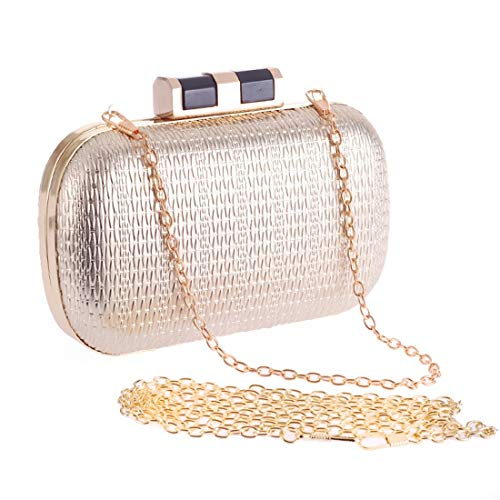 Bag Women's Bag Dress Hand Party Evening Evening Fly Fashion American Bag Simple Supply Bag Evening Gold Take Bag Style Tide Women's PU European f11nd4ZqO