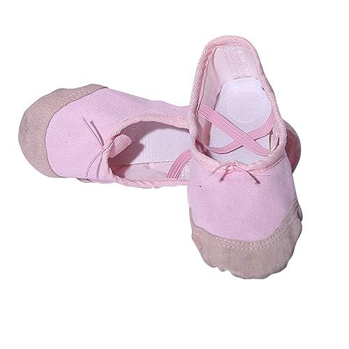 Amazon.com: MIOIM Zapatillas de ballet para niños con ...