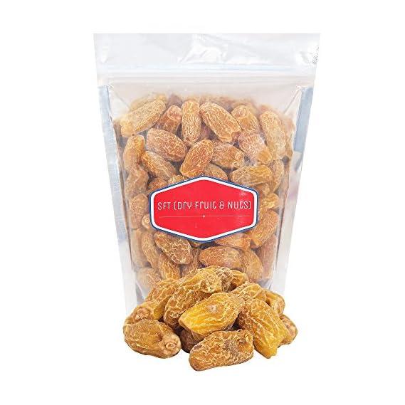 SFT Dates Dry Yellow/Sukha Khajoor Premium Quality (Pila Chuara) Grade- Medium Size 1 Kg