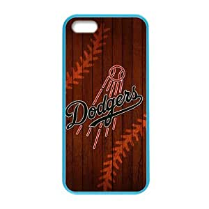 MLB - Los Angeles Dodgers - Los Angeles Dodgers- Alternate Solid DistressedCustom Colorful Case for iPhone 5,5s.