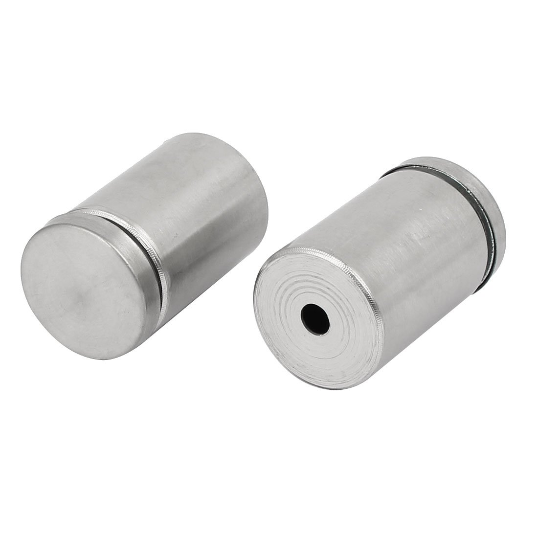sourcing map M6 304 Stainless Steel U-Bolt Fastener for 76mm Pipe Diameter 5pcs