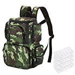 Lixada Tackle Storage Backpack with 4 Bait Boxes