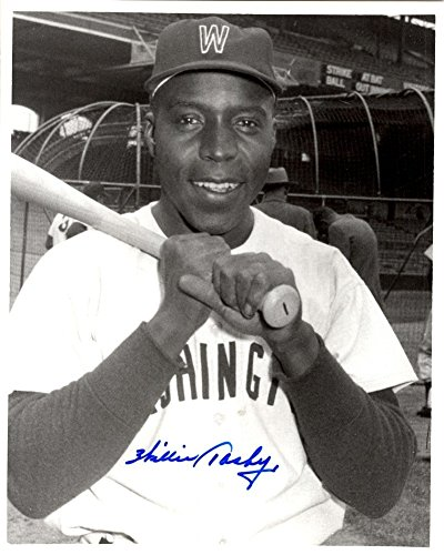 Washington Senators Baseball Photo - Willie Tasby Signed 8x10 Washington Senators Photo - Autographed Baseball Photos