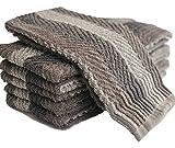 Exclusive Kitchen Towel, 6 Pack (grey)