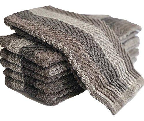 Exclusive Kitchen Towel, 6 Pack (grey) by Sammy Mills