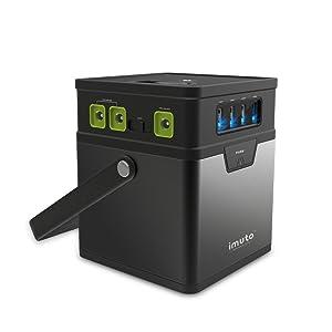 iMuto M5 182Wh AC出力100W ポータブル電源
