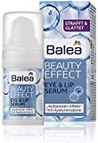 Balea Beauty Effect Eye-Contour & Lip Serum - Smoothes, Firms & Gives Long-Lasting Moisture - Not Tested on Animals - 15ml by Balea