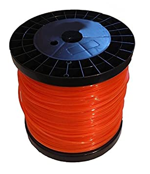 Hilo de nylon redondo desbrozadora bobina 3,3 x 140 Metros: Amazon ...