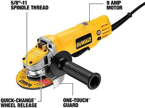 DEWALT Angle Grinder Tool, 4-1 2-Inch, Paddle Switch DWE4120